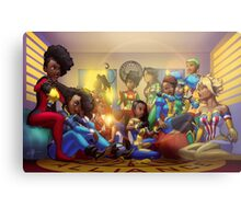Caribbean Justice Ladies Lounge Metal Print