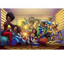 Caribbean Justice Ladies Lounge Photographic Print
