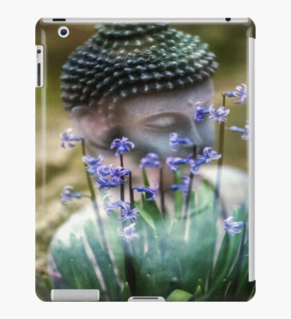 Buddha with Flower Asia Blooms iPad Case/Skin
