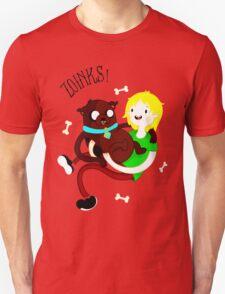 Shaggy Finn And Jake Dog Unisex T-Shirt