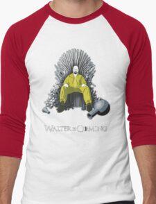 Walter is Coming - Breaking Bad x Game of Thrones  Men's Baseball ¾ T-Shirt
