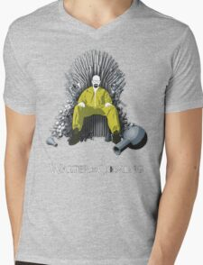 Walter is Coming - Breaking Bad x Game of Thrones  Mens V-Neck T-Shirt