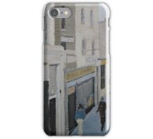 Street Scene (painting) iPhone Case/Skin