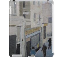 Street Scene (painting) iPad Case/Skin