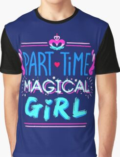 Kingdom Heart Part Time Magical Girl Graphic T-Shirt