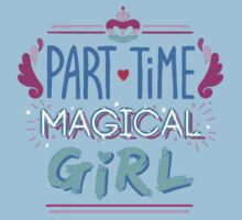 Kingdom Heart Part Time Magical Girl Kids Tee