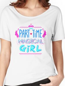 Kingdom Heart Part Time Magical Girl Women's Relaxed Fit T-Shirt