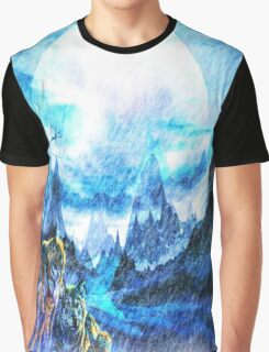 Winter moon  Graphic T-Shirt