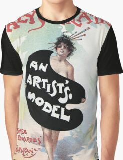 An Artist's model, Julius Price, Daly's Theatre London advert Graphic T-Shirt