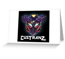Custranz brand  Greeting Card