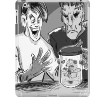 Dead Hamster in a Frankenstein movie iPad Case/Skin