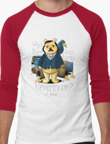 Edgar Allan Pooh Men's Baseball ¾ T-Shirt