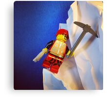 Lego Ice Climber Canvas Print