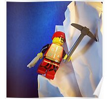 Lego Ice Climber Poster
