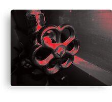 Plasma Tap Canvas Print