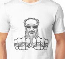 Bearded Biker Unisex T-Shirt