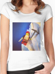 Lego Ice Climber Women's Fitted Scoop T-Shirt