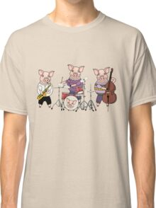 Pig jazz band Classic T-Shirt
