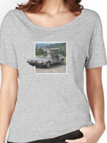DeLorean Popout Women's Relaxed Fit T-Shirt