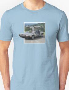 DeLorean Popout Unisex T-Shirt