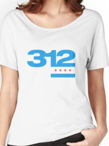 312 Chicago Women's Relaxed Fit T-Shirt