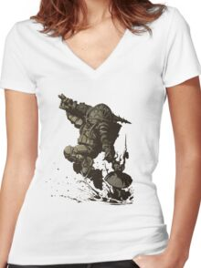 Videogames :: BioShock Women's Fitted V-Neck T-Shirt
