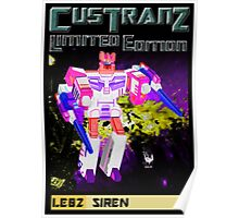 Custranz Siren Art Poster
