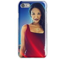 Iris West - Poster iPhone Case/Skin