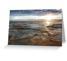 seascape at Coogee Greeting Card