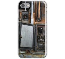 Control Panel Chaos iPhone Case/Skin