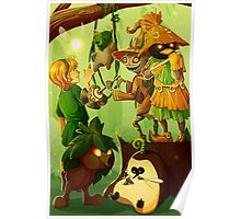 The Forest Critters Poster