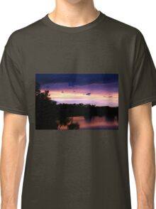 Sunset over Water Classic T-Shirt