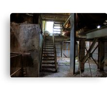 Staircase to Decay Canvas Print