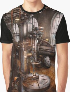 Machinist - Industrial Drill Press  Graphic T-Shirt