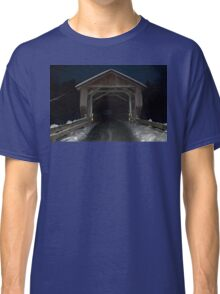 Covered (Bridge) in Snow Classic T-Shirt