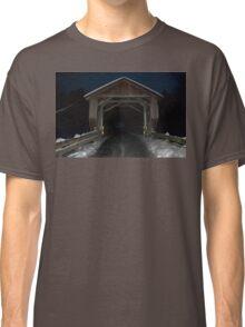 Covered (Bridge) in Snow Classic T-Shirt