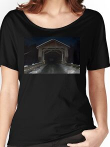 Covered (Bridge) in Snow Women's Relaxed Fit T-Shirt
