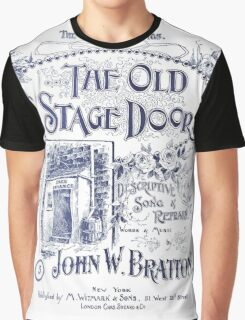 The Old Stage Door Graphic T-Shirt