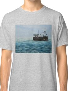Blue Seascape (Oil Painting) Classic T-Shirt