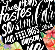 Persuasion - So Beloved Sticker