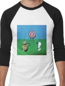 Intergalactic Shoot Off Men's Baseball ¾ T-Shirt