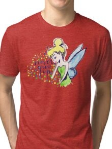 Never Grew Up Tink Colour Tri-blend T-Shirt