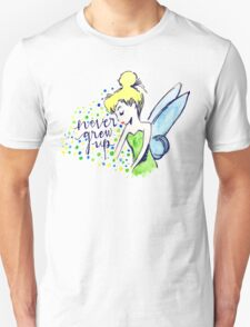 Never Grew Up Tink Colour T-Shirt