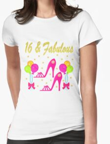 16 AND FABULOUS SHOW LOVER Womens Fitted T-Shirt