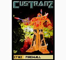 Custranz Firewall art Unisex T-Shirt