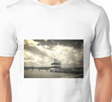 Harbour Building in the Clouds Unisex T-Shirt