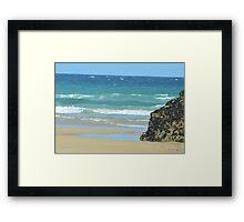 Summer Waves Framed Print