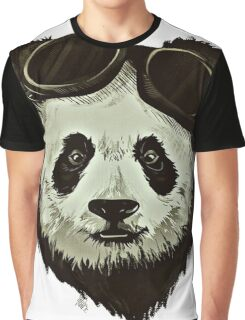 Punk Panda Graphic T-Shirt