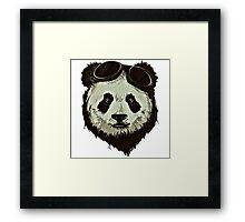 Punk Panda Framed Print