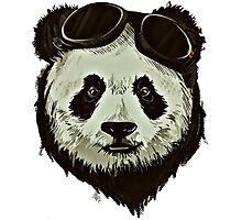Punk Panda Photographic Print